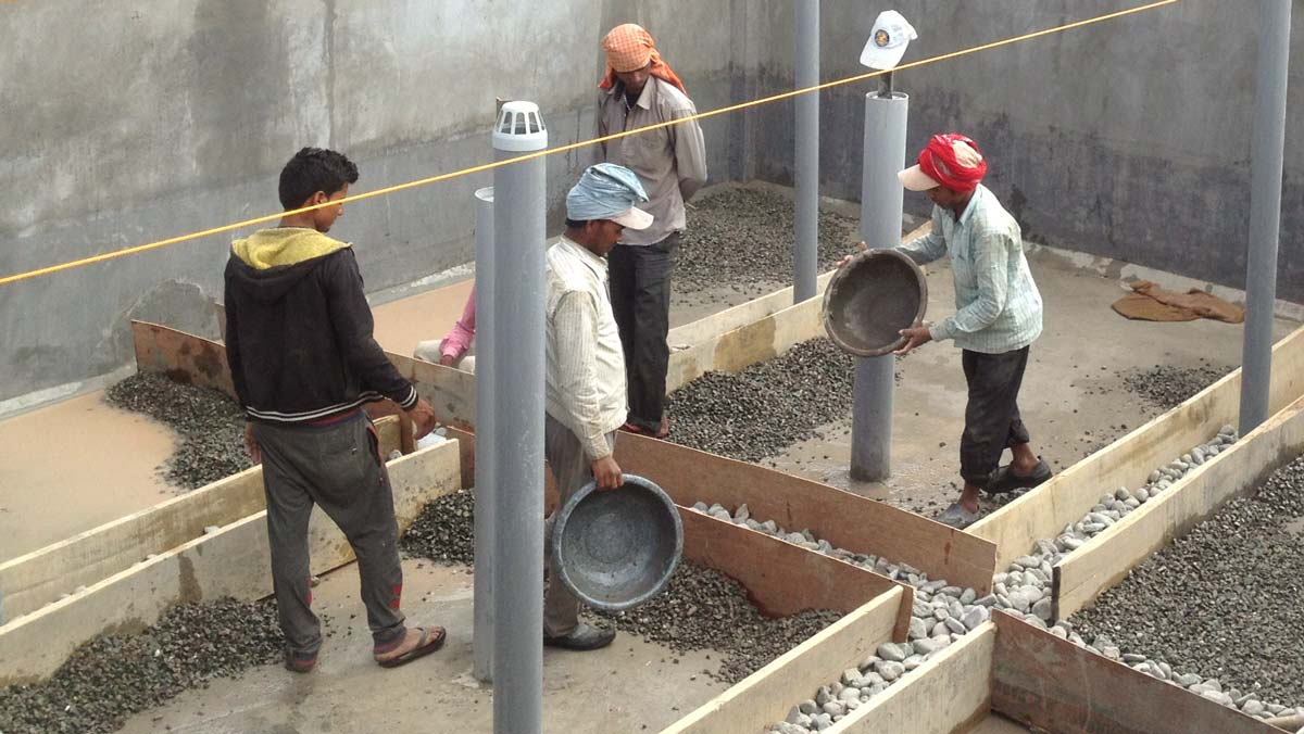 Collaboration is everything: high-altitude faecal sludge management